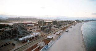 Huge North Korean beach resort 'nearing completion'