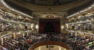 #EBCphotography:  El Ateneo Grand Splendid named the world's most beautiful bookstore