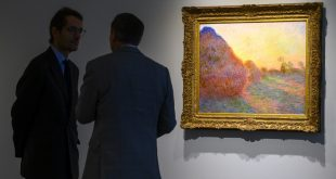 Monet painting draws $110.7 mn at New York auction