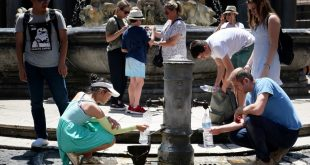 Searing heat across Europe sparks scramble for shade
