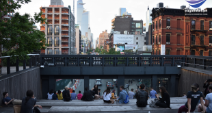 Last section of elevated High Line park opens to public