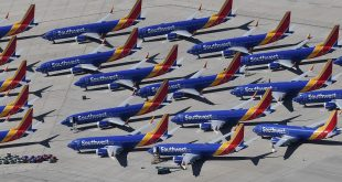 Southwest Airlines again pushes back 737 MAX return date