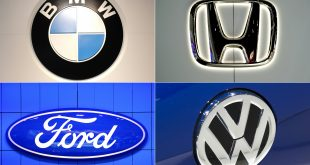 US opens probe of four automakers over California emissions pact