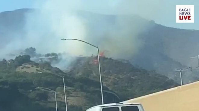 Getty Fire forces over seven thousand Southern Californians from homes