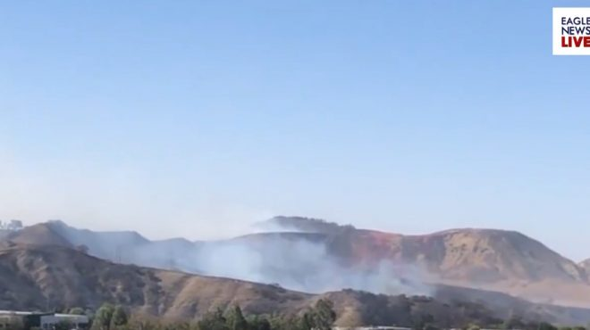 Simi Valley Fire threatens Ronald Reagan Presidential Library