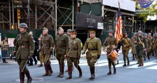New York honors veterans on 100th anniversary of Armistice Day