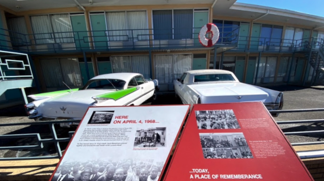 Memphis, Tennessee, home of National Civil Rights Museum, commemorates MLK Day