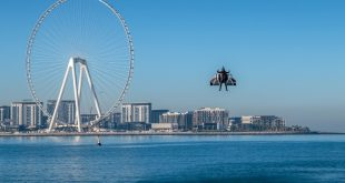 'Jetman' stuns with Iron Man-style flight over Dubai