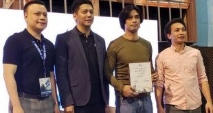 "Philippine actor Richard Quan receives special recognition during EBC Films ""Make it Reel"" workshop"