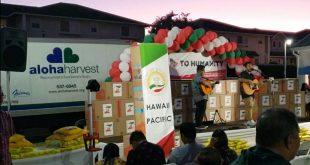 Honolulu mayor, nonprofit Aloha Harvest provides 10,000 meals to Oahu residents