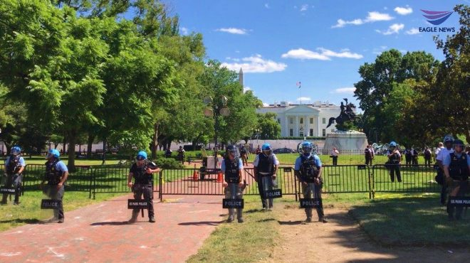 #EBCphotojournalism:  Protesters converge on White House, call for end to police brutality