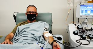Army general sets example by donating COVID-19 convalescent plasma