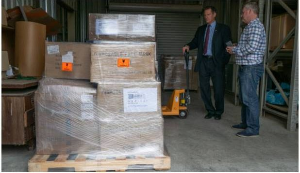 US donates personal protection equipment to Independent Samoa