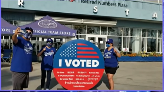 Young Voters Turn Out in Record Numbers for the 2020 US Election