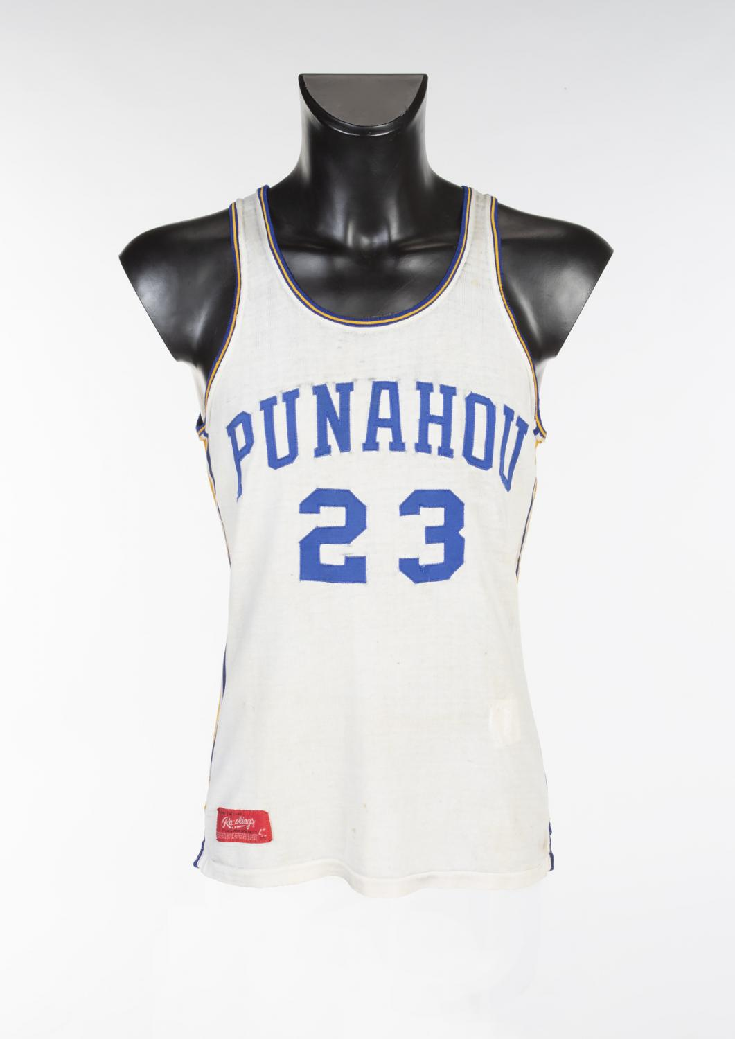 Barack Obama high school basketball jersey sets new record at online auction