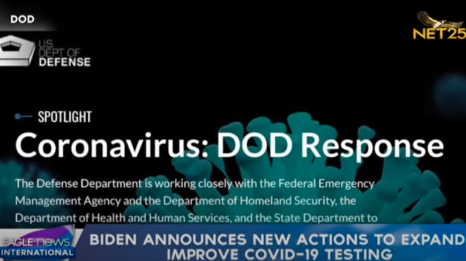 Biden announces new actions to expand, improve covid testing; New groups eligible for vaccines in DC