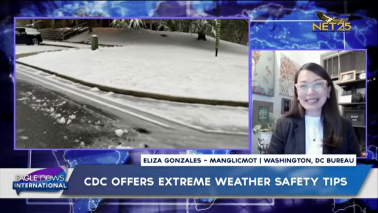 CDC offers extreme weather safety tips