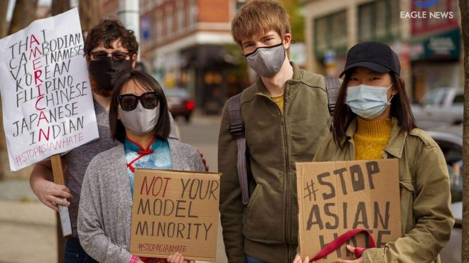 #EBCPhotojournalism:  Washingtonians hold Stop Asian Hate protest in Seattle's China Town