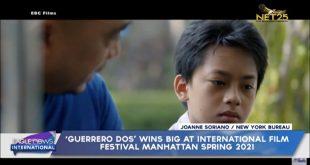 'Guerrero Dos' wins big at International Film Festival Manhattan Spring 2021