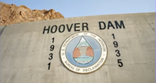 Hoover Dam, Lake Mead water levels at historical lows