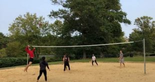 Coping with the pandemic through volleyball